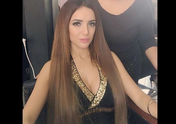 Rosángela Espinoza se autodenomina 'La Barbie Peruana' y usuarios la critican (FOTO)