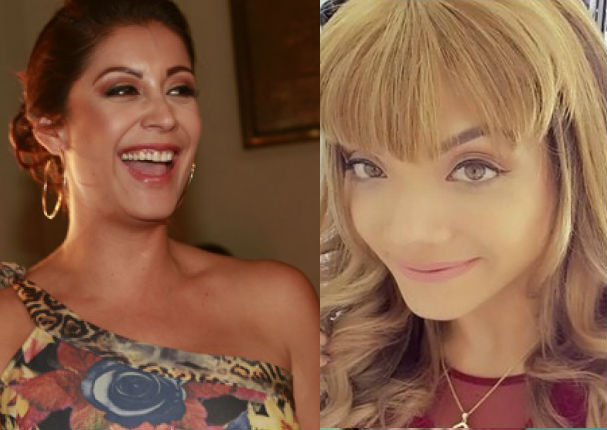 Isabel Acebedo se hace sorprendente cambio de look y Karla Tarazona le dice de todo en vivo (VIDEO)