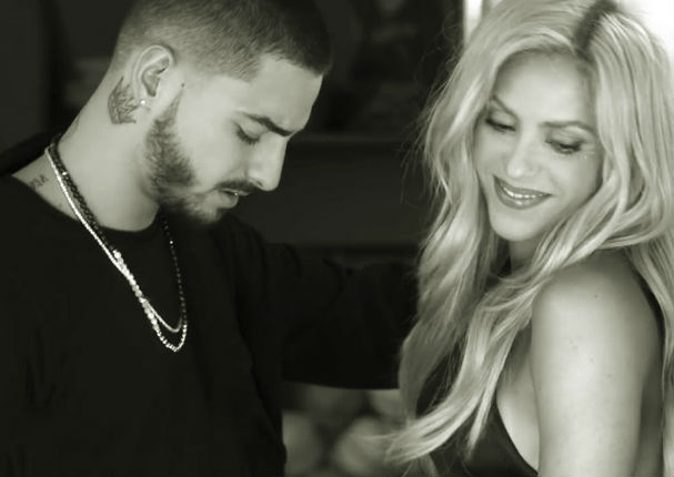 Shakira y Maluma hicieron 'click' durante la creación de nuevo tema (VIDEO)