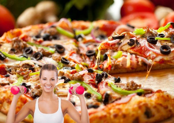 Según la ciencia, comer pizza te ayudaría a bajar de peso (VIDEO)