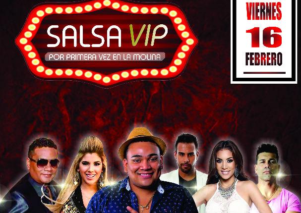 Salsa Vip: Pasa el mejor viernes del mes junto a los mejores artistas
