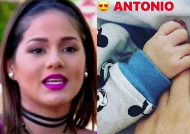 Katty García: Exmodelo denuncia página falsa de su bebé (VIDEO)