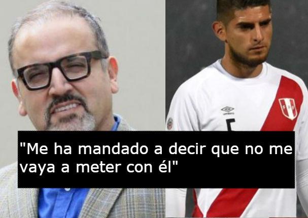 Beto Ortíz responde en vivo a hermano de Carlos Zambrano tras recibir amenaza (VIDEO)