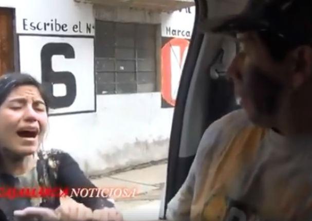Viral: Mujer agrede a su pareja e indigna a peruanos (VIDEO)