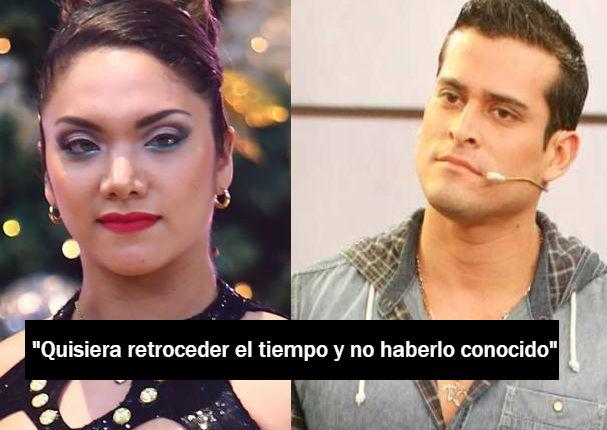 Isabel Acevedo se lamenta y reconoce su peor error con Christian Domínguez (VIDEO)