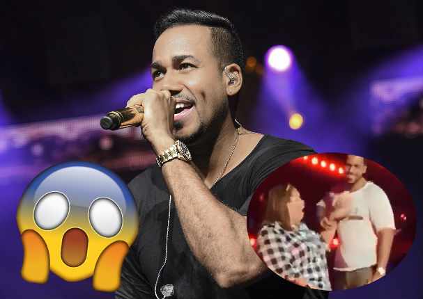 Romeo Santos genera polémica con tremenda sorpresa en concierto (VIDEO)