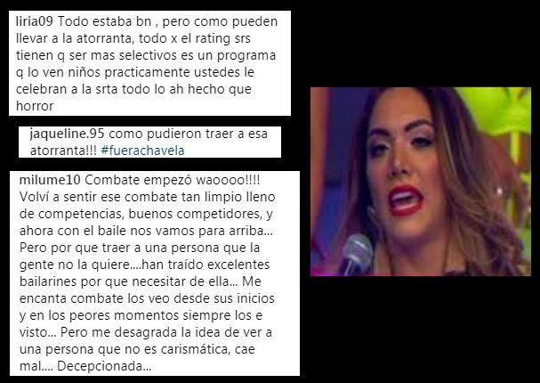 Isabel Acevedo: Exigen salida de Combate y demuestran todo su odio en redes sociales