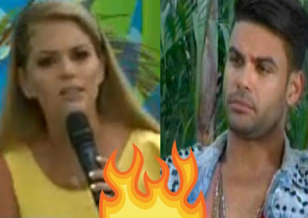 Brunella Horna y Erick Sabater protagonizan fuerte pelea en vivo (VIDEO)