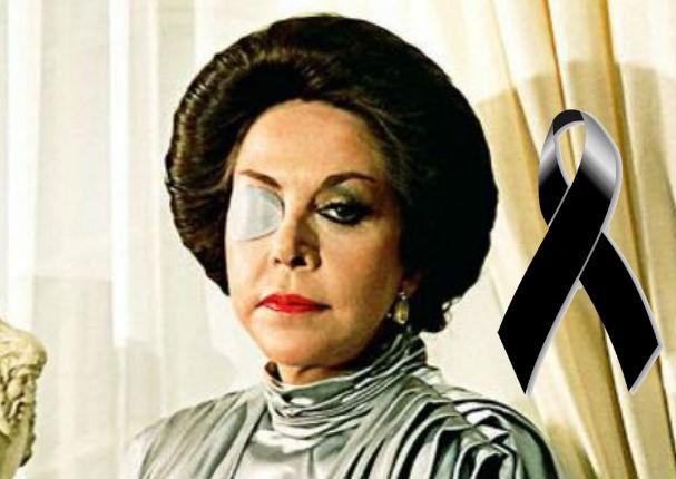 Falleció María Rubio, villana de 'Cuna de Lobos'