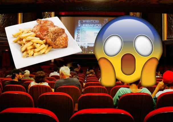 Youtube Viral: Jóvenes entraron al cine con pollo a la brasa y trabajadores reaccionaron así