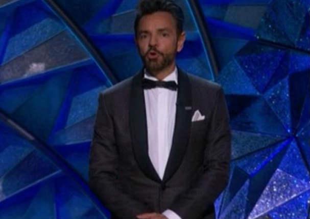 Oscar 2018:  Así fue la presentación de Eugenio Derbez en la entrega de premios