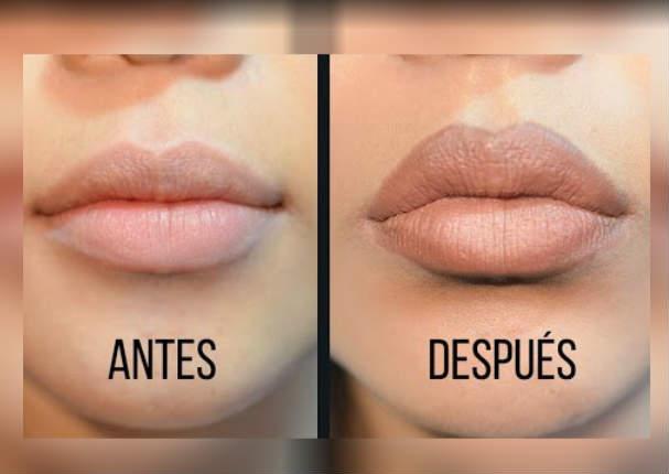 Belleza: Consigue unos labios carnosos con este método efectivo