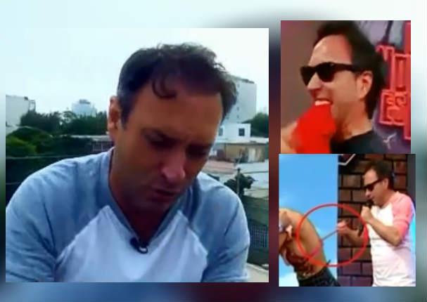 Carlos Galdós dio íntimo mensaje sobre lo peor que hizo en su programa (VIDEO)