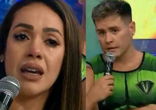 Dorita Orbegozo se quiebra en vivo por palabras de 'Pancho' Rodríguez (VIDEO)
