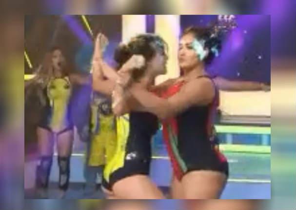 Rosángela Espinoza se va de las manos contra Michelle Soifer y su reacción fue esta (VIDEO)