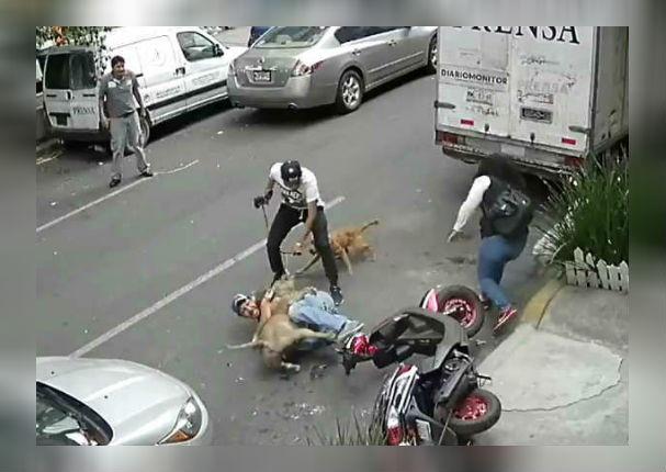 Facebook viral: Hombre se enfrentó a pitbull para salvar a su perrito (VIDEO)