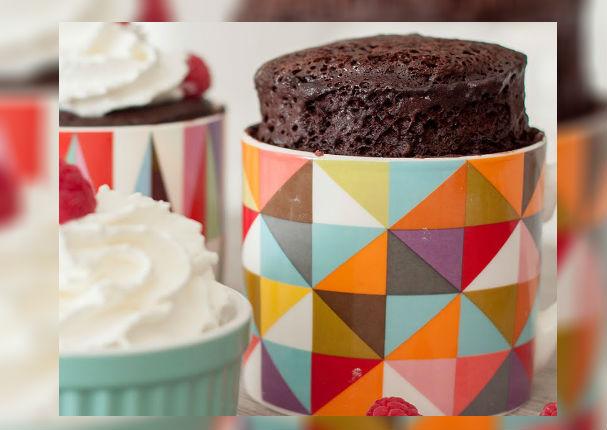 Receta Aprende a preparar cupcakes en microondas ¡No más de 5 minutos!