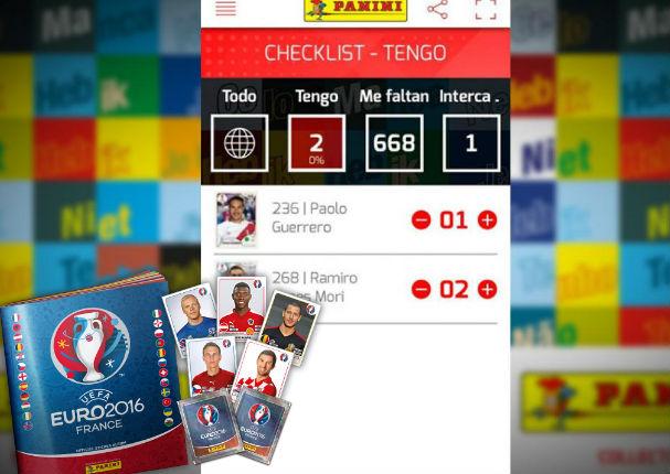 Álbum Panini: Esta app te ayudará a intercambiar figuritas de la manera más sencilla
