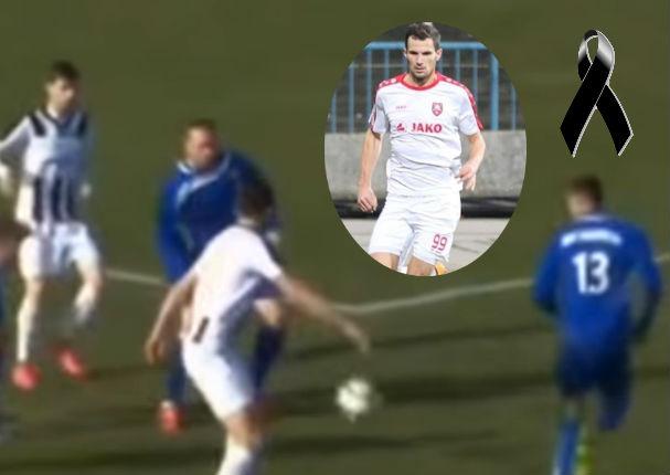 Fútbol: Jugador croata de 25 años muere en pleno partido (VIDEO)