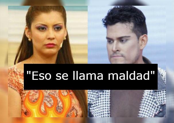 Karla Tarazona desenmascara a Christian Domínguez por mentir sobre el bautizo de su hijo