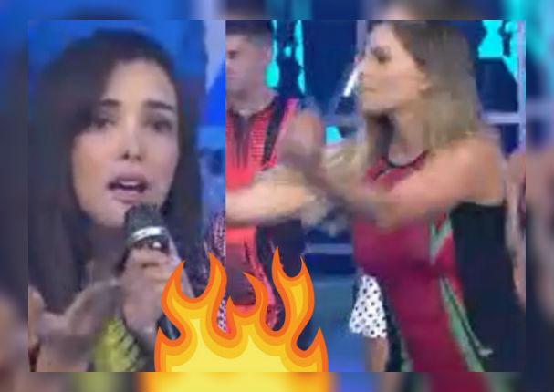 Rosángela Espinoza, Karen Dejo y Alejandra Baigorria protagonizan fuerte discusión en vivo