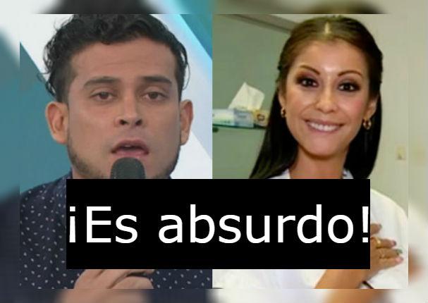 ¿Christian Domínguez pide a Karla Tarazona que no muestre más pruebas de infidelidad?