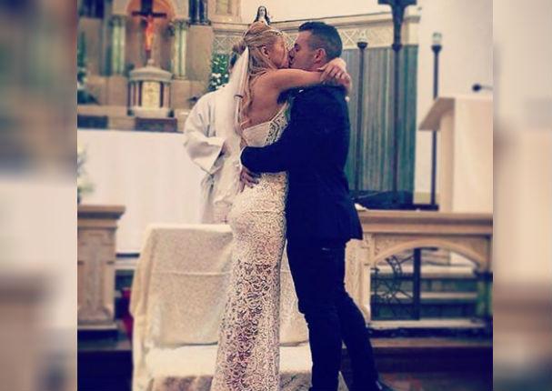 Xoana González: Así fue la boda religiosa de la modelo (VIDEO)