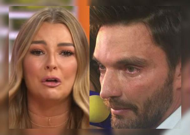 Marjorie De Sousa y Julián Gil se sinceran y lloran por su hijo (VIDEO)