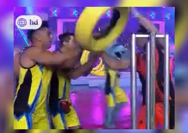 Ignacio Baladán explota en vivo con mala reacción hacia sus compañeros (VIDEO)