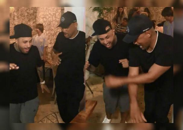Instagram Viral: Will Smith y su hijo bailan al estilo de Nicky Jam en Cartagena (VIDEO)