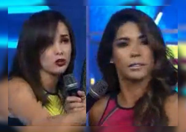 Rosángela Espinoza hace lo que nadie pudo y saca de sus casillas a Karen Dejo (VIDEO)