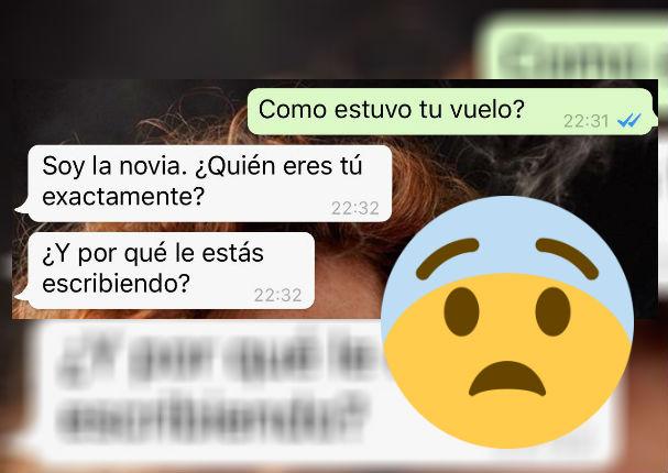 Whatsapp: Esta es la mejor respuesta que le pudieron dar a una novia celosa (FOTO)