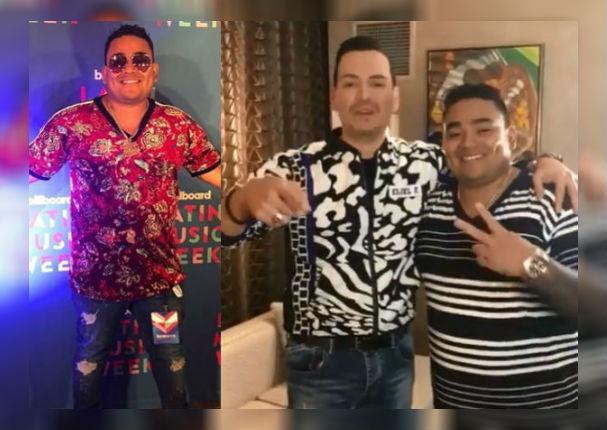 Josimar y su Yambú: Así se luce el salsero junto a Victor Manuelle en los Billboard 2018