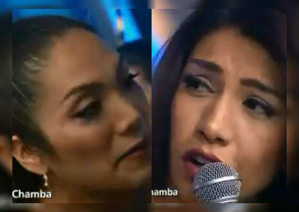 Diana Sánchez dejó callada a Isabel Acevedo tras curiosa pregunta en vivo (VIDEO)