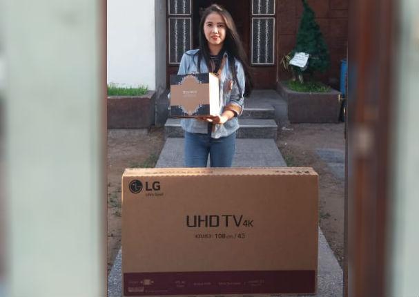 Arma la frase mundial y gana un Smart TV 4K