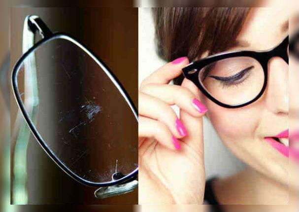 Tips: Así eliminarás los rayones de tus lentes