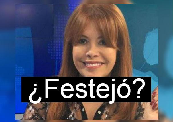 Magaly Medina: Usuarios se indignan por mensaje tras fallo de TAS contra Paolo Guerrero (FOTO)