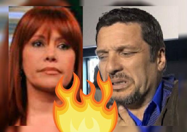 Lucho Cáceres le dice sus verdades a Magaly Medina de manera pública (FOTO)
