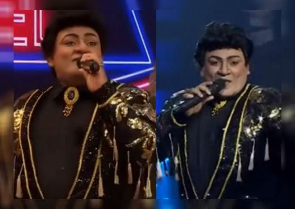 Josimar: Salsero dejó al público con la boca abierta tras imitar a Juan Gabriel (VIDEO)