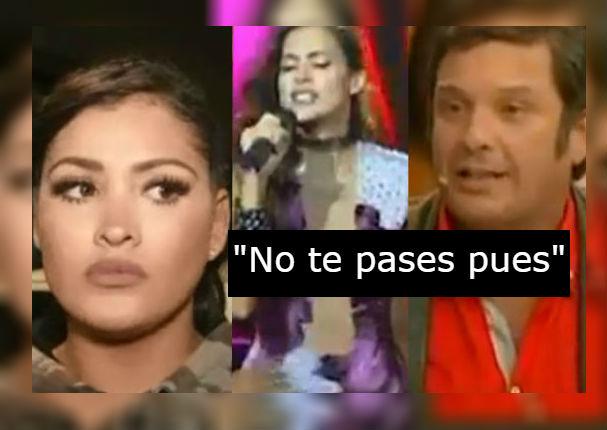 Michelle Soifer arremete contra el jurado de 'El artista del año' y Milett Figueroa (VIDEO)