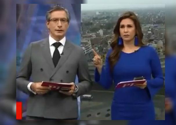Federico Salazar y Verónica Linares: Así vivieron el temblor durante transmisión en vivo