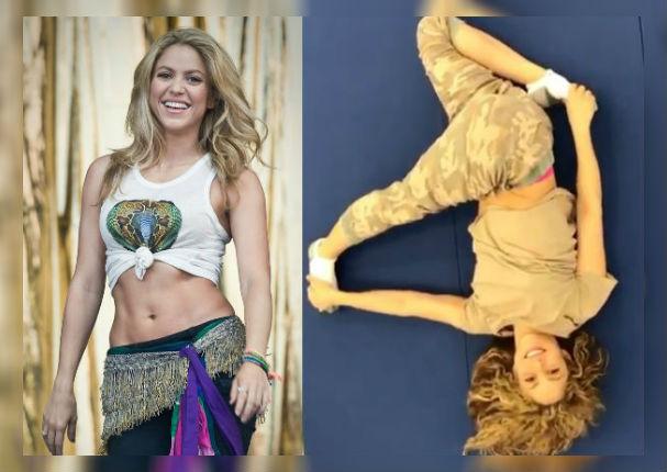 Instagram: Shakira sorprende a fans con sexy rutina de estiramiento (VIDEO)