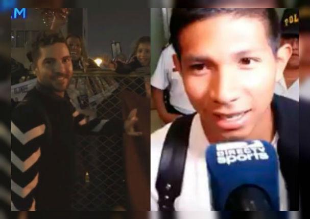 David Bisbal: ¿Edinson Flores realmente opacó su llegada a Lima? VIDEO)