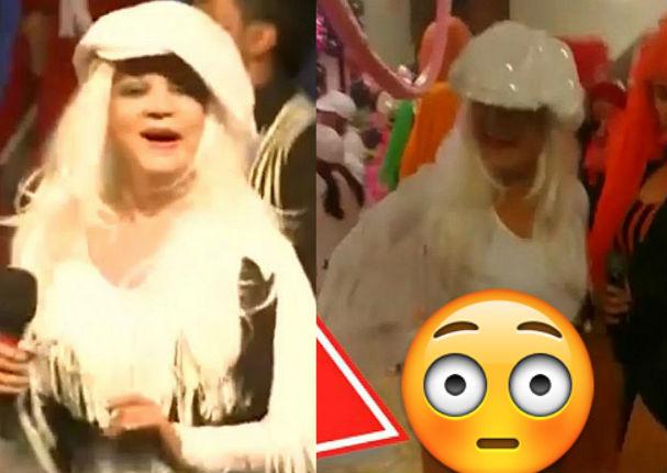 Yola Polastri pasa el roche de su vida durante show de cumpleaños (VIDEO)