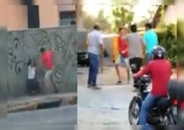 Facebook Viral: Hombre golpea a mujer sin pensar que recibiría un escarmiento (VIDEO)
