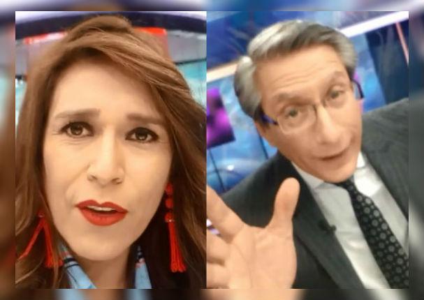 Verónica Linares revela cómo Federico Salazar la salvó de llegar tarde al programa (VIDEO)