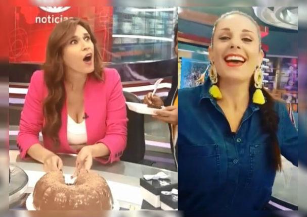 Rebeca Escribens sorprendió así a Verónica Linares por su cumpleaños (VIDEO)