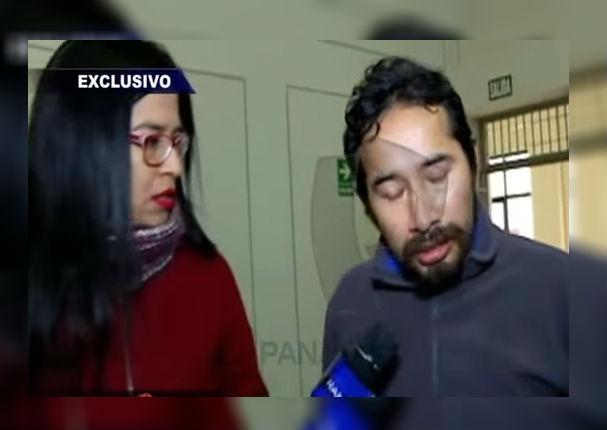 Reportera causa polémica al encarar al asesino de Eyvi Ágreda (VIDEO)