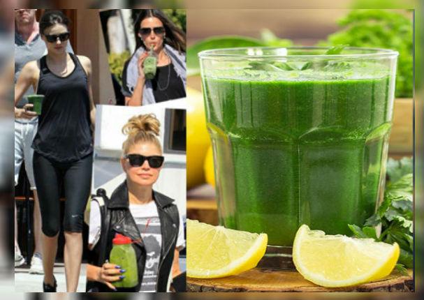 Este es el famoso jugo verde que te ayudará a adelgazar en 7 días