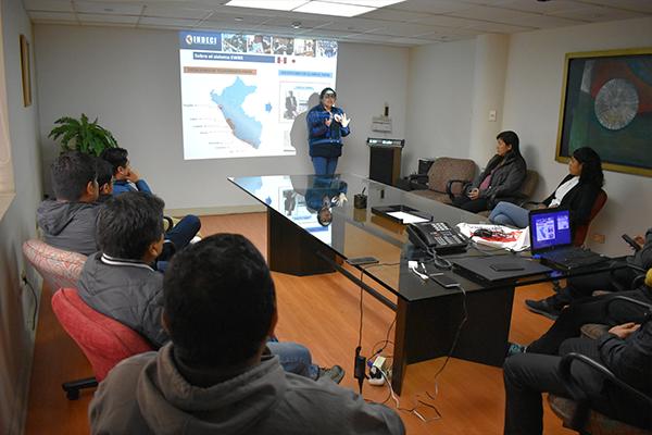 Radio Panamericana participó de la capacitación de INDECI